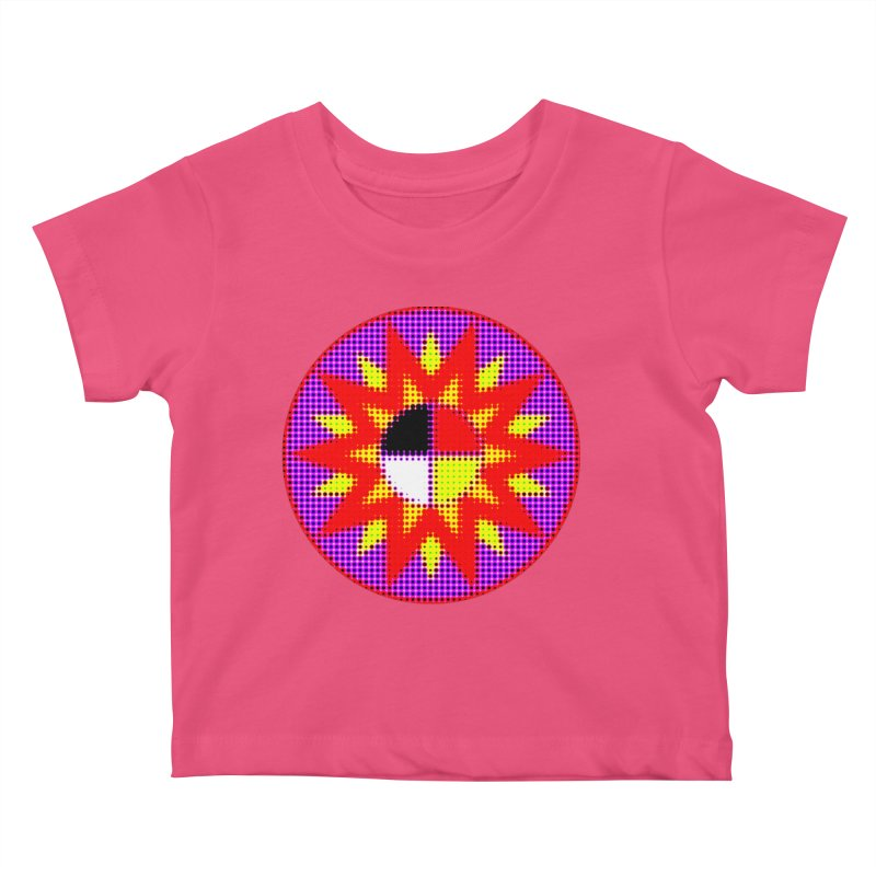 Burst of Color Kids Baby T-Shirt by Shawnee Rising Studios
