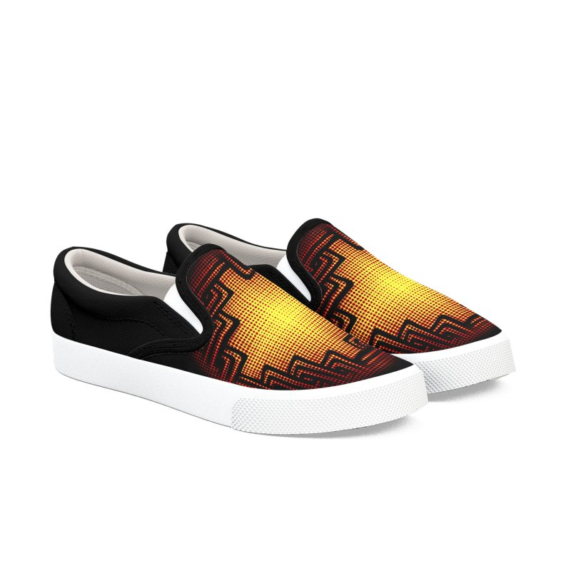 Linked Men's Slip-On Shoes by Shawnee Rising Studios
