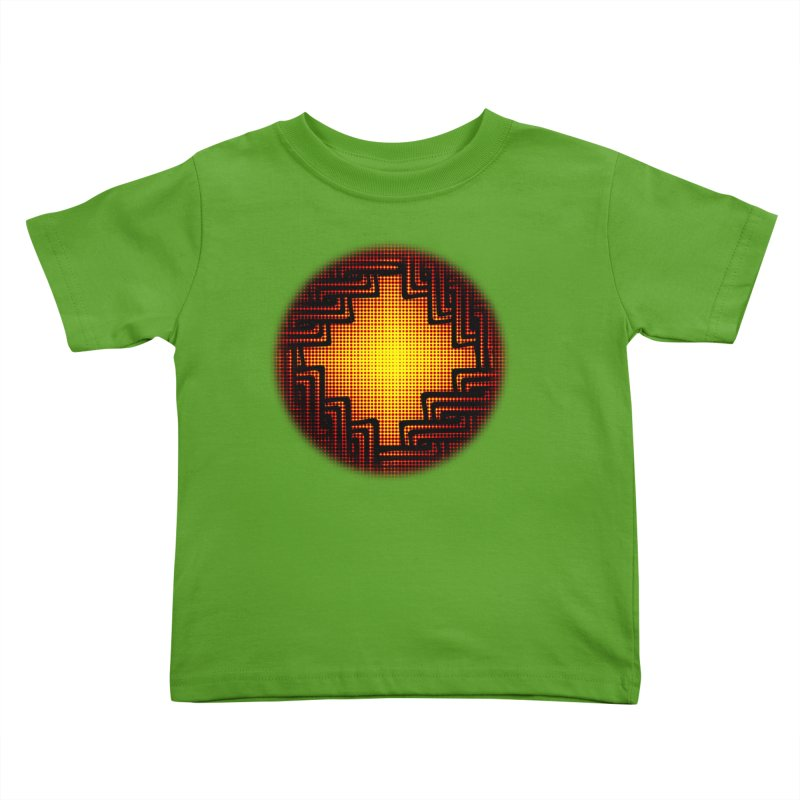 Linked Kids Toddler T-Shirt by Shawnee Rising Studios