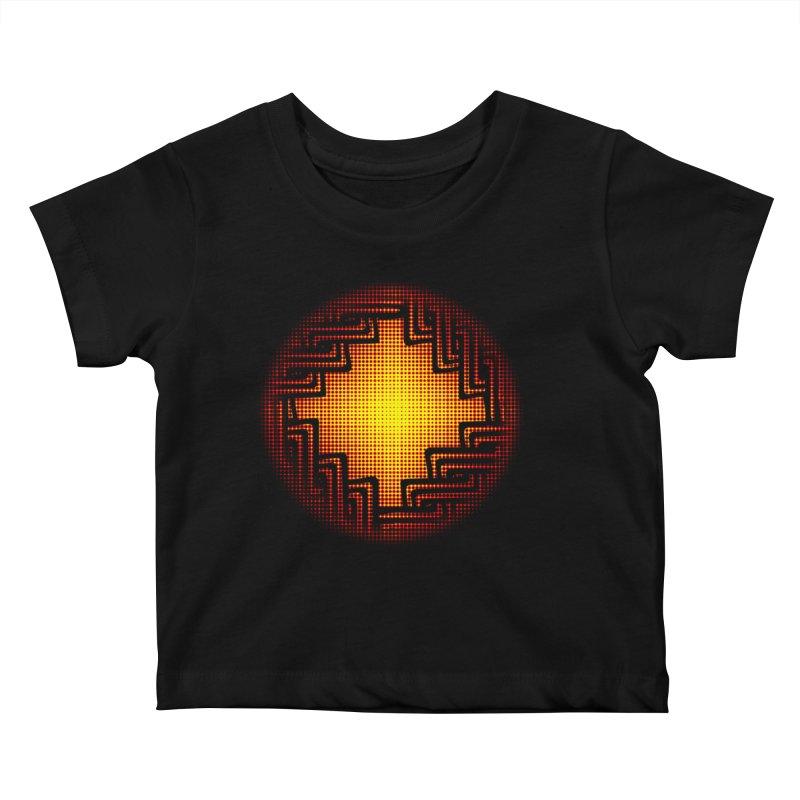 Linked Kids Baby T-Shirt by Shawnee Rising Studios