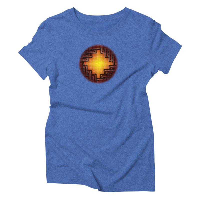 Linked Women's Triblend T-Shirt by Shawnee Rising Studios
