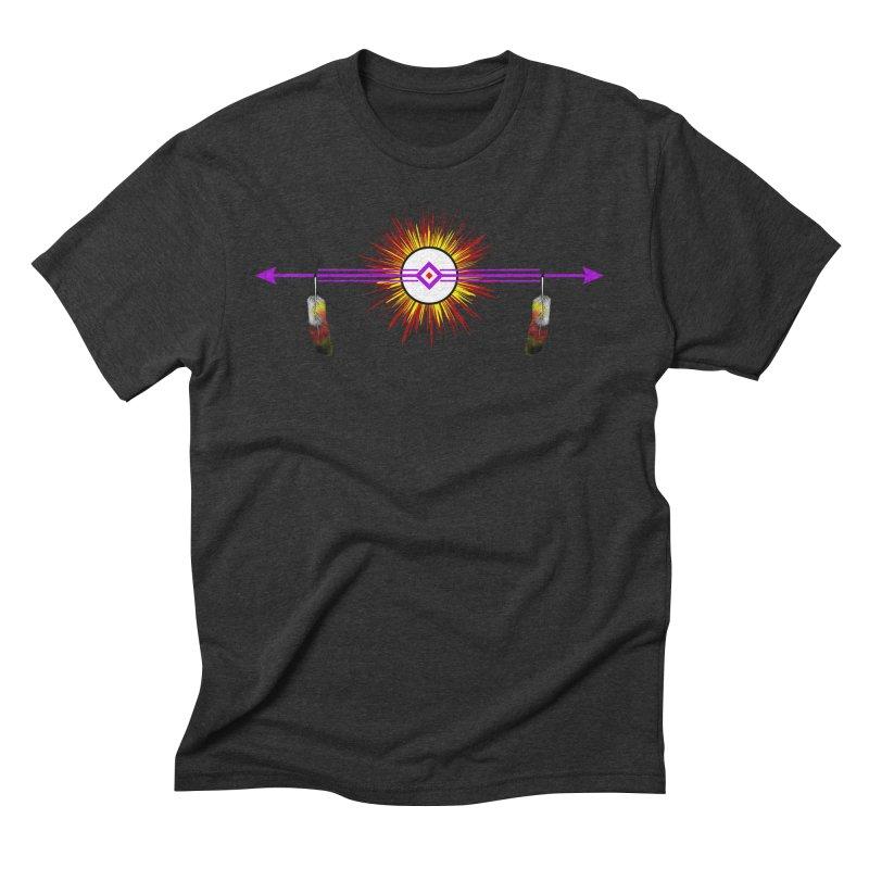 Balance Men's Triblend T-Shirt by Shawnee Rising Studios