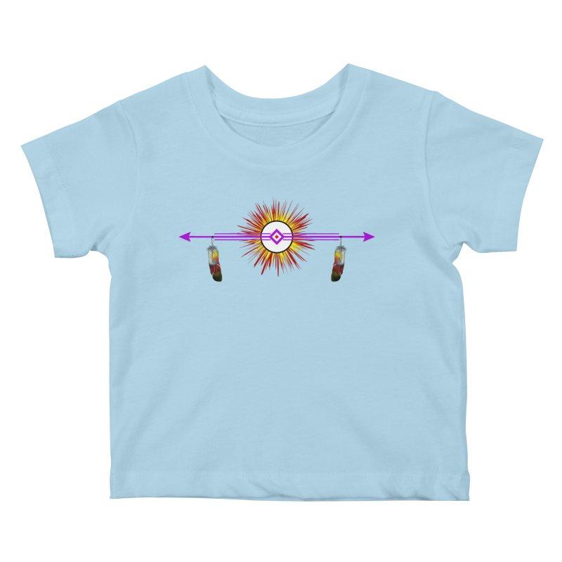 Balance Kids Baby T-Shirt by Shawnee Rising Studios