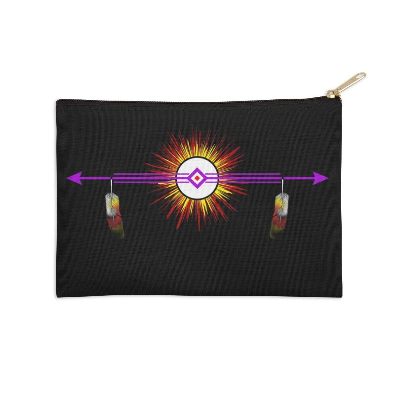 Balance Accessories Zip Pouch by Shawnee Rising Studios