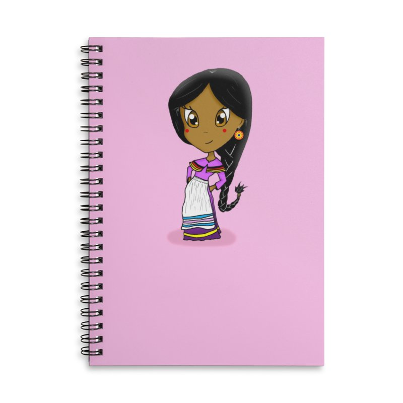 Kyamanyalapa! (Let's Dance!) Accessories Lined Spiral Notebook by Shawnee Rising Studios