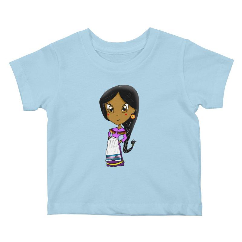 Kyamanyalapa! (Let's Dance!) Kids Baby T-Shirt by Shawnee Rising Studios