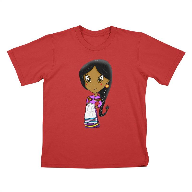 Kyamanyalapa! (Let's Dance!) Kids T-Shirt by Shawnee Rising Studios