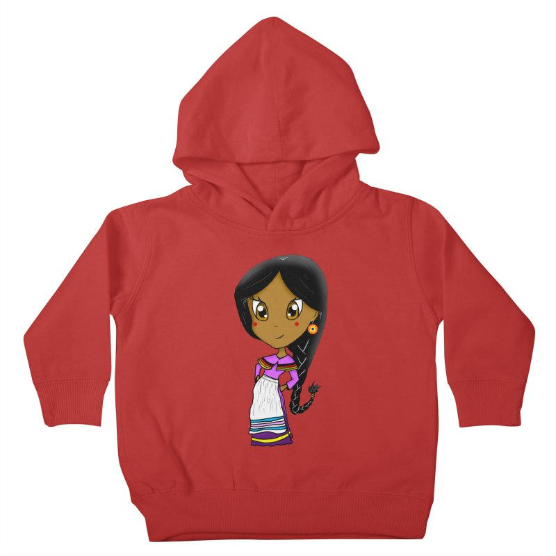 Kyamanyalapa! (Let's Dance!) Kids Toddler Pullover Hoody by Shawnee Rising Studios
