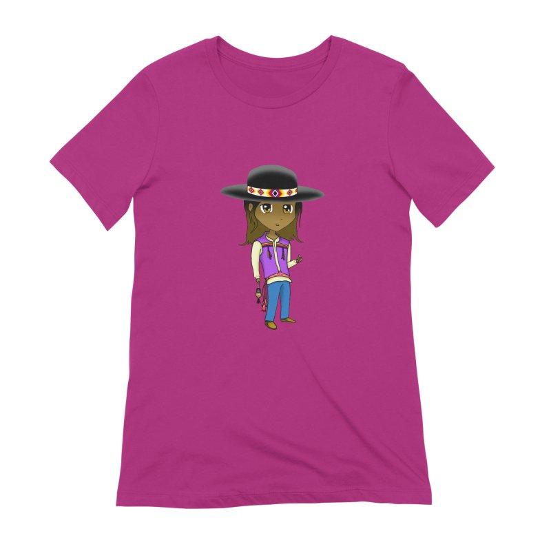 Kyamanyalapa! (Let's Dance!) #2 Women's Extra Soft T-Shirt by Shawnee Rising Studios