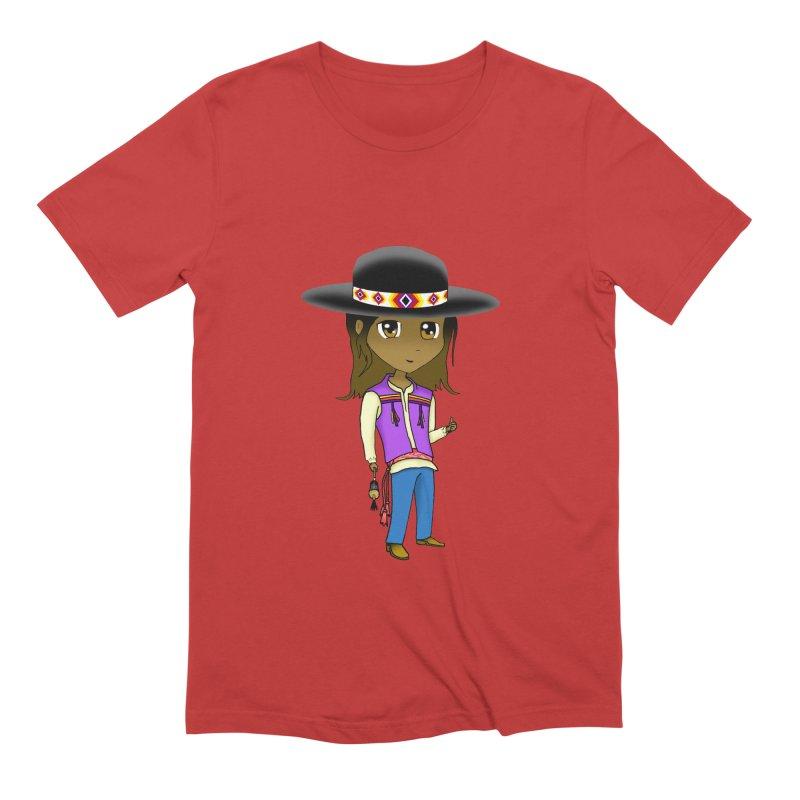 Kyamanyalapa! (Let's Dance!) #2 Men's Extra Soft T-Shirt by Shawnee Rising Studios