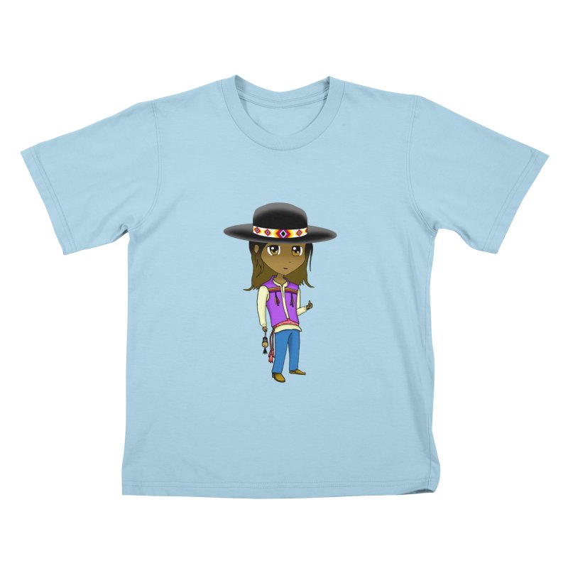Kyamanyalapa! (Let's Dance!) #2 Kids T-Shirt by Shawnee Rising Studios