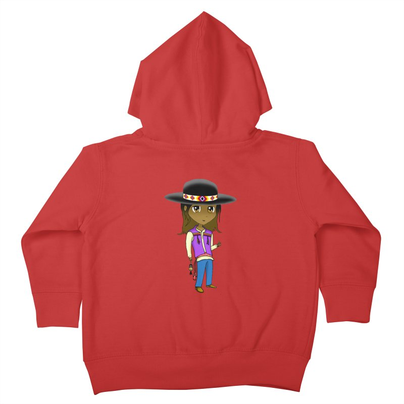 Kyamanyalapa! (Let's Dance!) #2 Kids Toddler Zip-Up Hoody by Shawnee Rising Studios