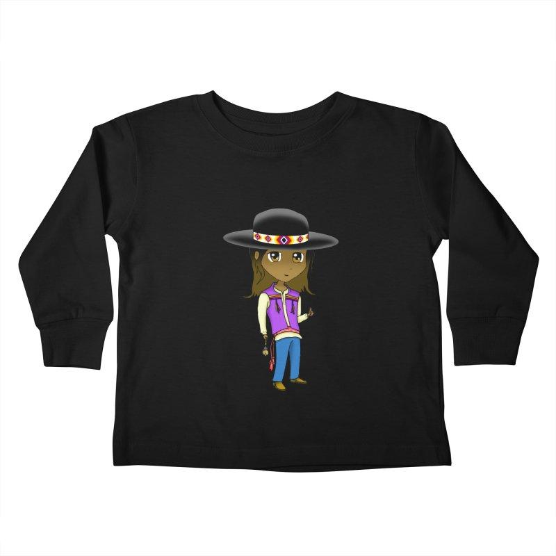 Kyamanyalapa! (Let's Dance!) #2 Kids Toddler Longsleeve T-Shirt by Shawnee Rising Studios