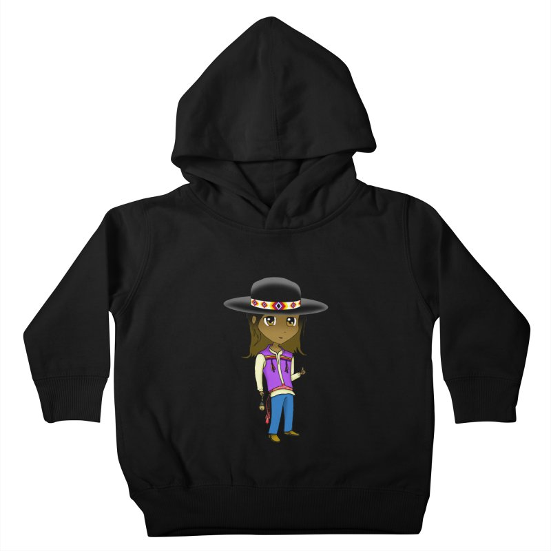 Kyamanyalapa! (Let's Dance!) #2 Kids Toddler Pullover Hoody by Shawnee Rising Studios
