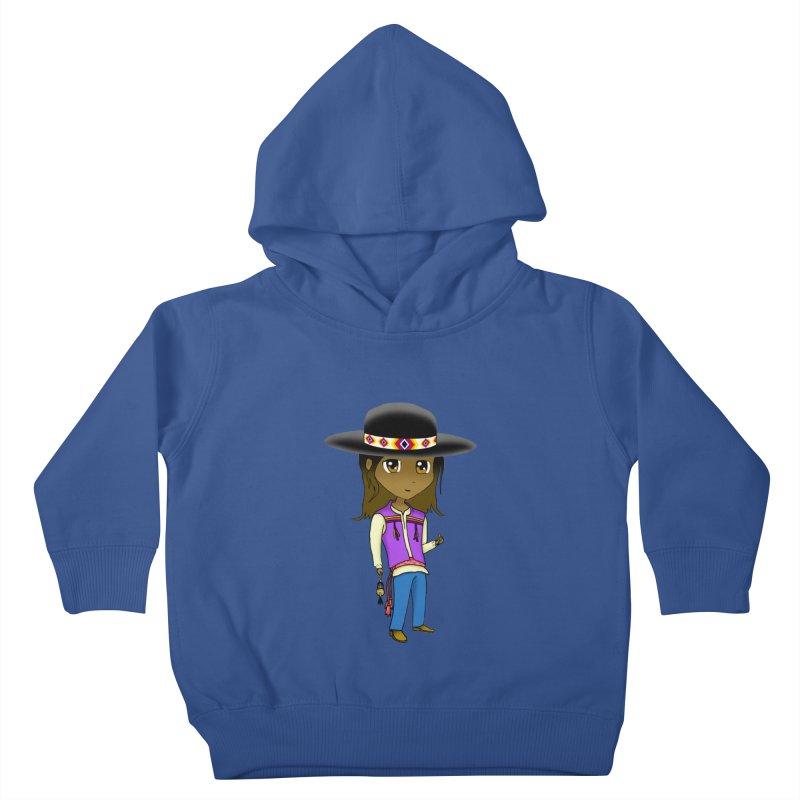 Kyamanyalapa! (Let's Dance!) #2 Kids Toddler Pullover Hoody by Shawnee Rising Studios