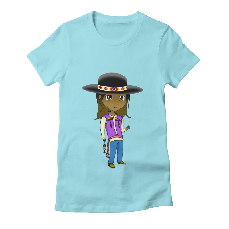 Kyamanyalapa! (Let's Dance!) #2 Women's Fitted T-Shirt by Shawnee Rising Studios