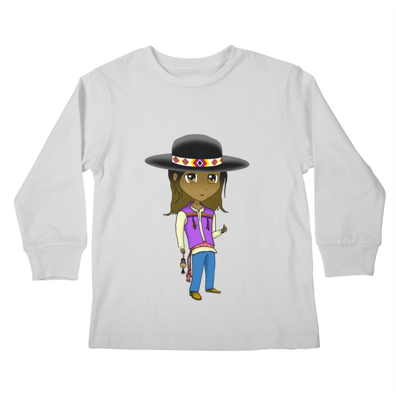 Kyamanyalapa! (Let's Dance!) #2 Kids Longsleeve T-Shirt by Shawnee Rising Studios