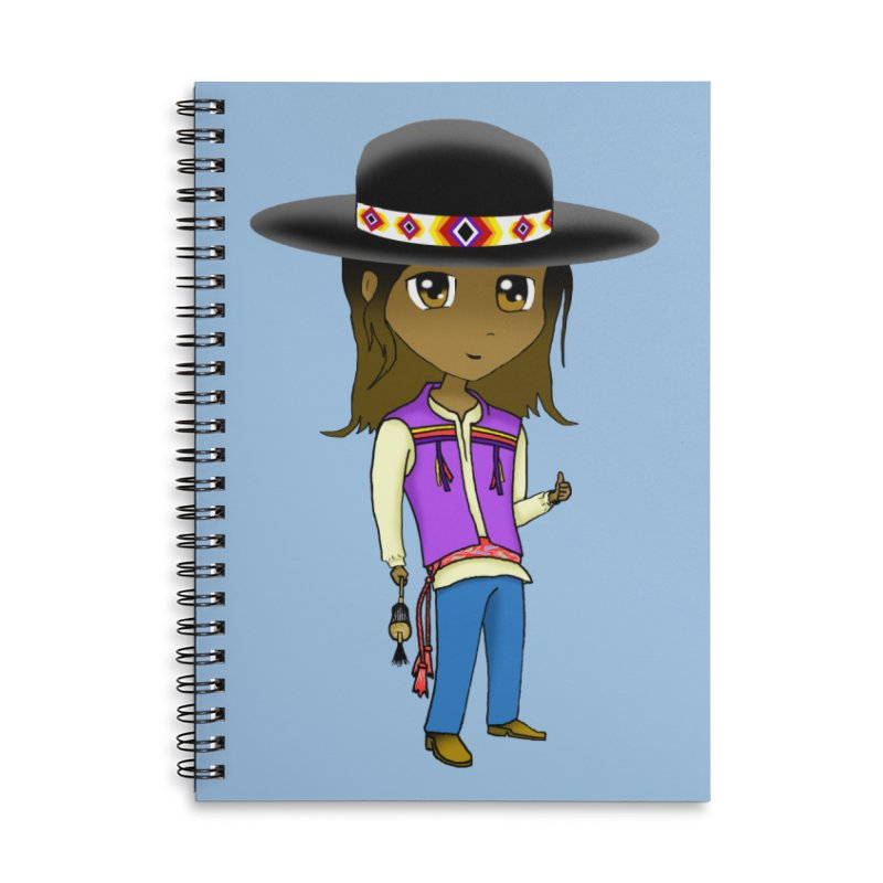Kyamanyalapa! (Let's Dance!) #2 Accessories Lined Spiral Notebook by Shawnee Rising Studios