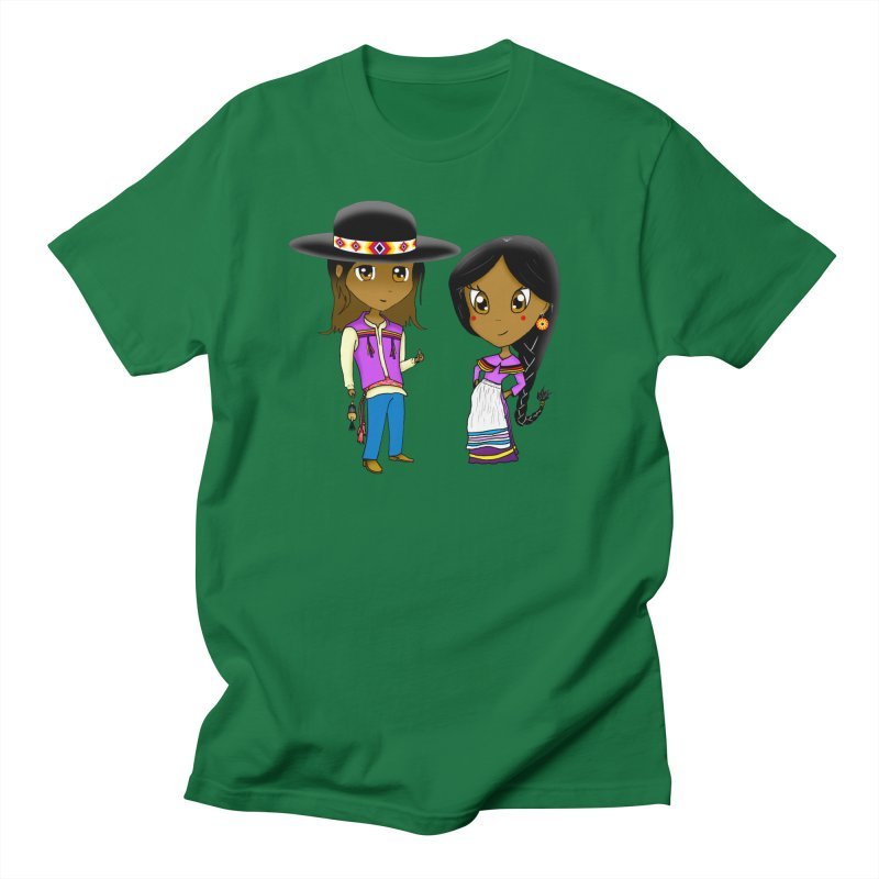 Gyikeweyafi Manyalako! (Everybody Dance!) Women's Regular Unisex T-Shirt by Shawnee Rising Studios