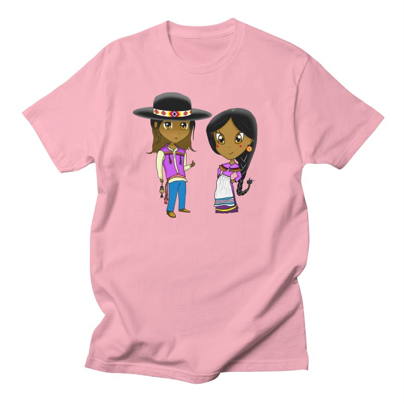 Gyikeweyafi Manyalako! (Everybody Dance!) Men's Regular T-Shirt by Shawnee Rising Studios