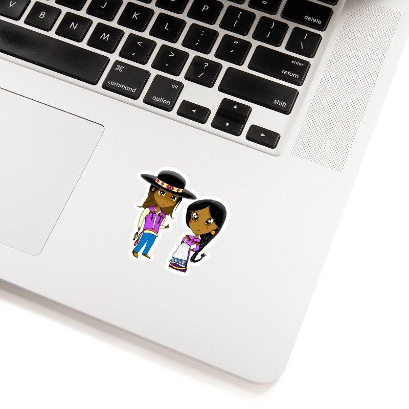 Gyikeweyafi Manyalako! (Everybody Dance!) Accessories Sticker by Shawnee Rising Studios