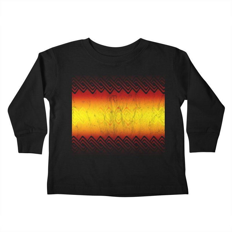 Ancient Kids Toddler Longsleeve T-Shirt by Shawnee Rising Studios