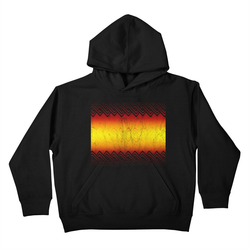 Ancient Kids Pullover Hoody by Shawnee Rising Studios