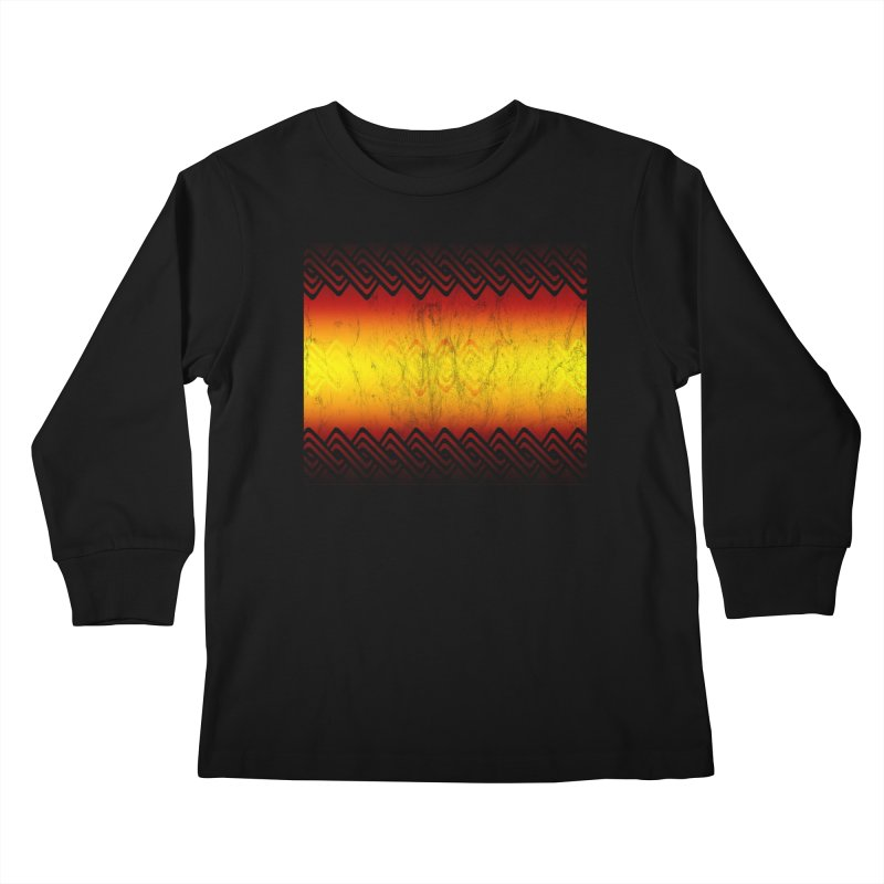 Ancient Kids Longsleeve T-Shirt by Shawnee Rising Studios