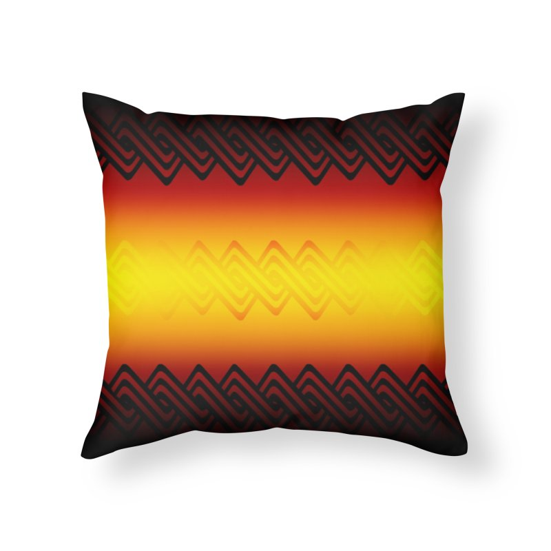 Ancient Home Throw Pillow by Shawnee Rising Studios