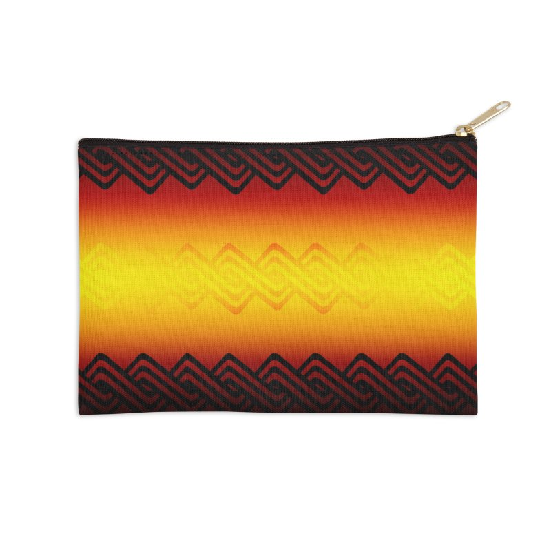 Ancient Accessories Zip Pouch by Shawnee Rising Studios