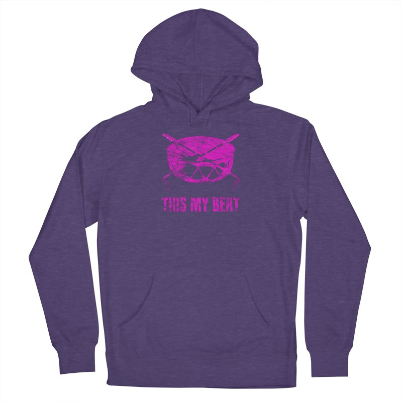 This My Beat #5 Men's French Terry Pullover Hoody by Shawnee Rising Studios