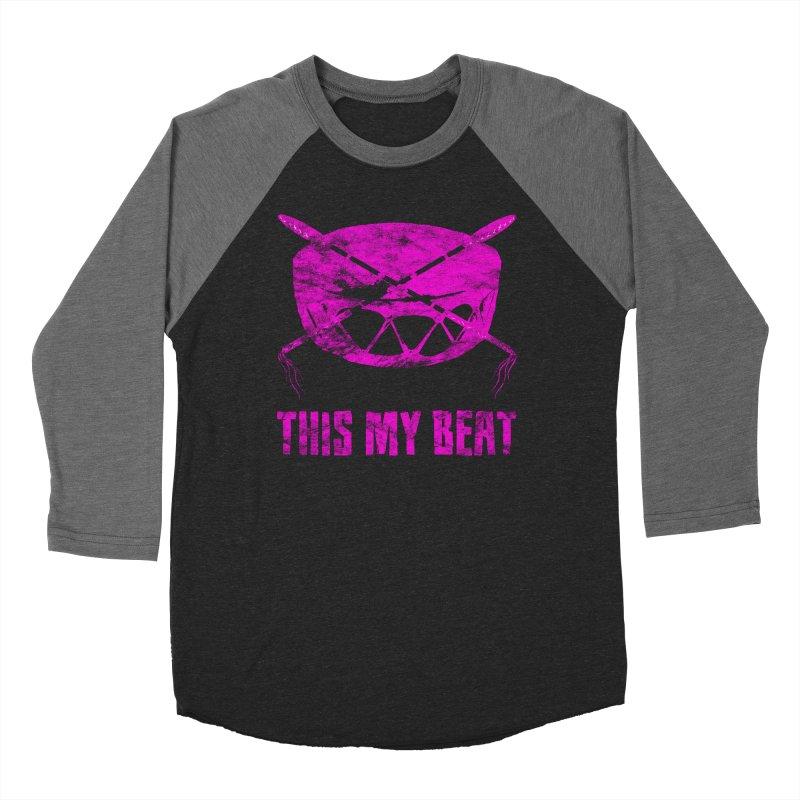 This My Beat #5 Men's Baseball Triblend Longsleeve T-Shirt by Shawnee Rising Studios