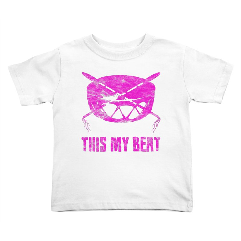 This My Beat #5 Kids Toddler T-Shirt by Shawnee Rising Studios