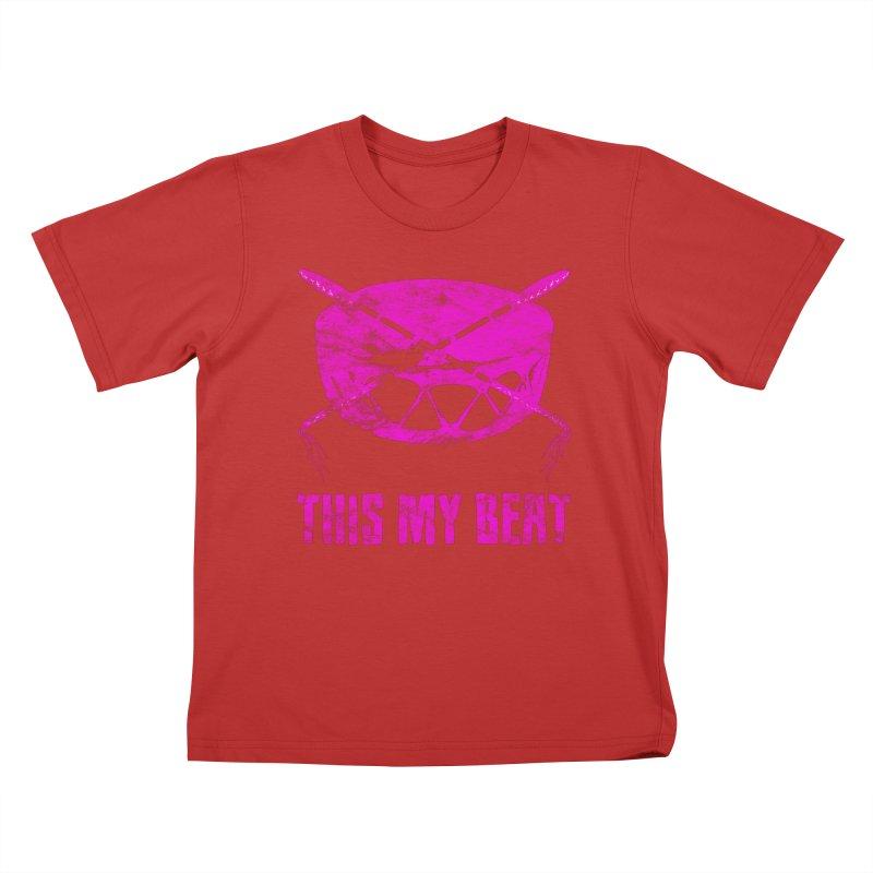 This My Beat #5 Kids T-Shirt by Shawnee Rising Studios