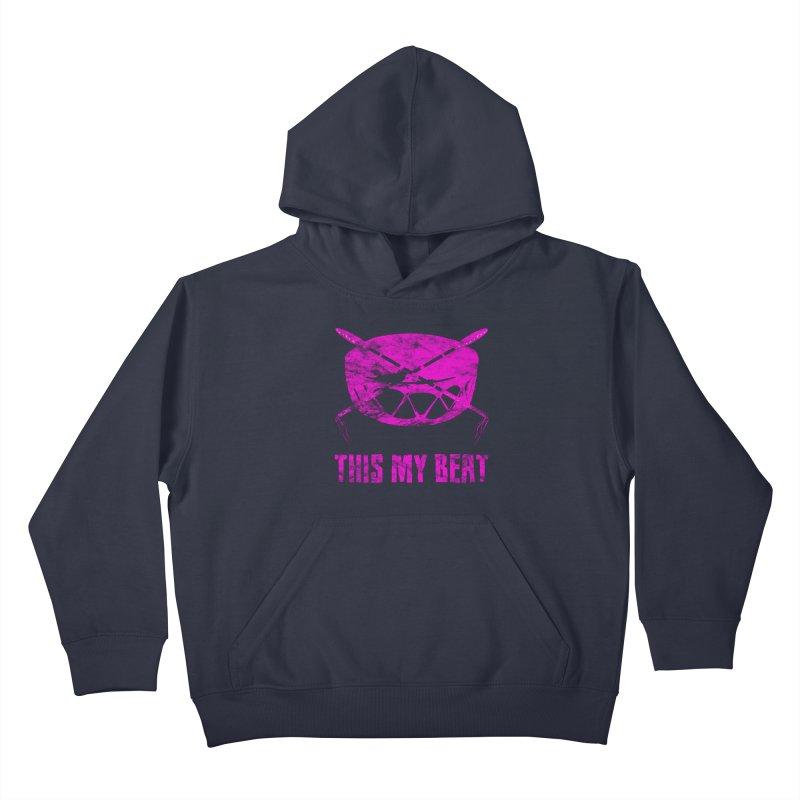 This My Beat #5 Kids Pullover Hoody by Shawnee Rising Studios