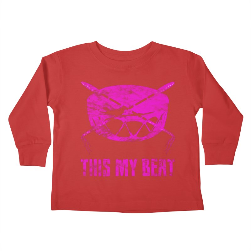 This My Beat #5 Kids Toddler Longsleeve T-Shirt by Shawnee Rising Studios