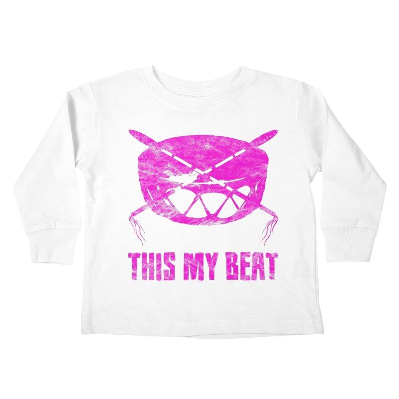 This My Beat #5 Kids Toddler Longsleeve T-Shirt by Shawnee Rising Studios