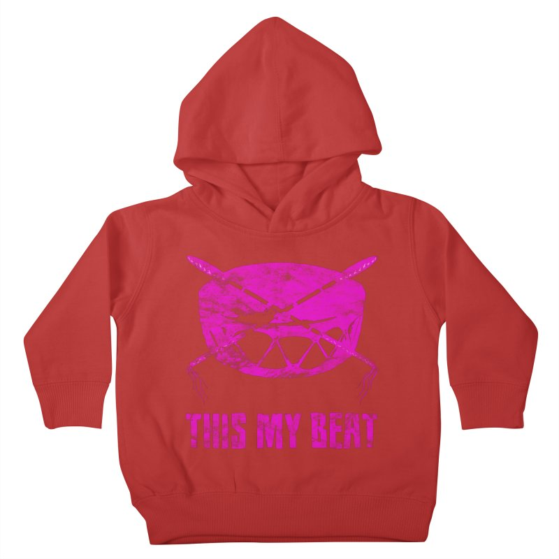 This My Beat #5 Kids Toddler Pullover Hoody by Shawnee Rising Studios