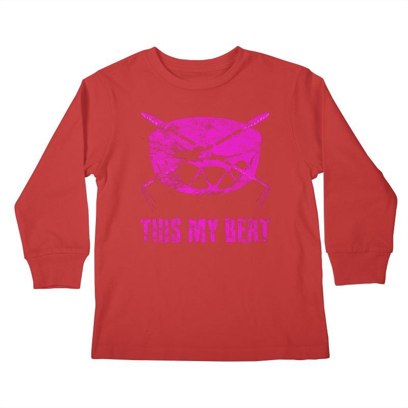 This My Beat #5 Kids Longsleeve T-Shirt by Shawnee Rising Studios