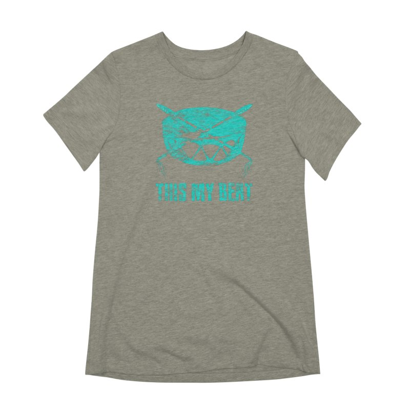 This My Beat #6 Women's Extra Soft T-Shirt by Shawnee Rising Studios