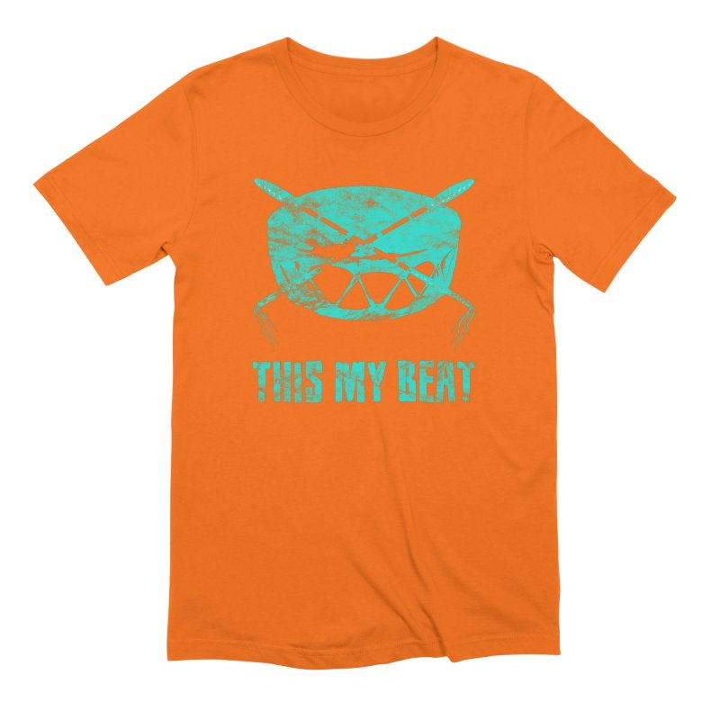 This My Beat #6 Men's Extra Soft T-Shirt by Shawnee Rising Studios