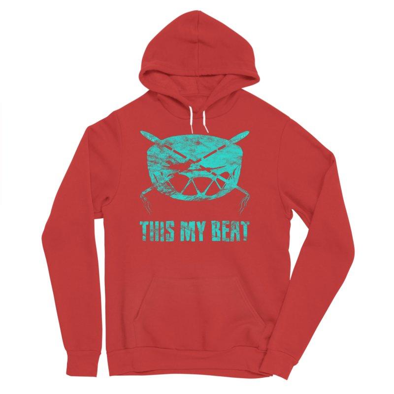 This My Beat #6 Men's Sponge Fleece Pullover Hoody by Shawnee Rising Studios