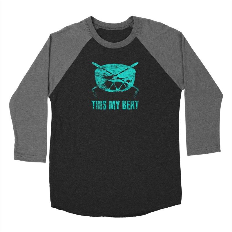 This My Beat #6 Women's Baseball Triblend Longsleeve T-Shirt by Shawnee Rising Studios