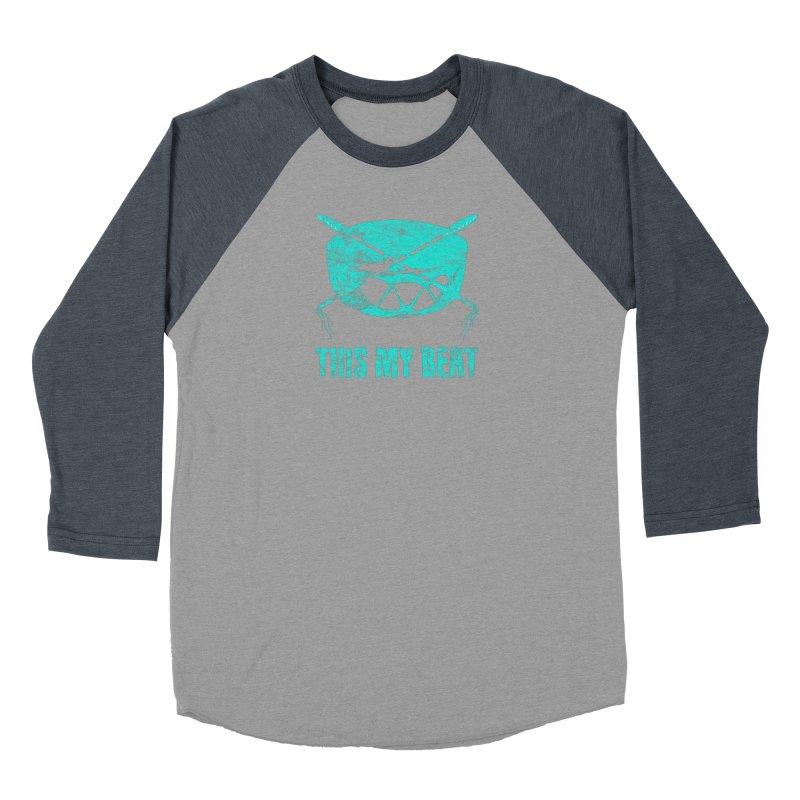 This My Beat #6 Men's Baseball Triblend Longsleeve T-Shirt by Shawnee Rising Studios