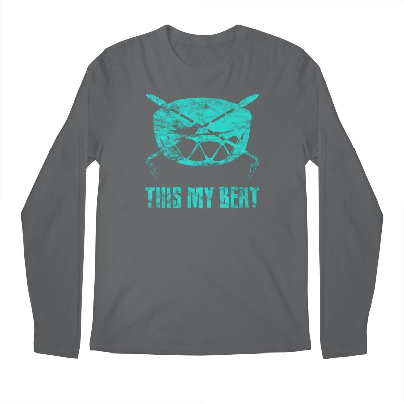 This My Beat #6 Men's Regular Longsleeve T-Shirt by Shawnee Rising Studios