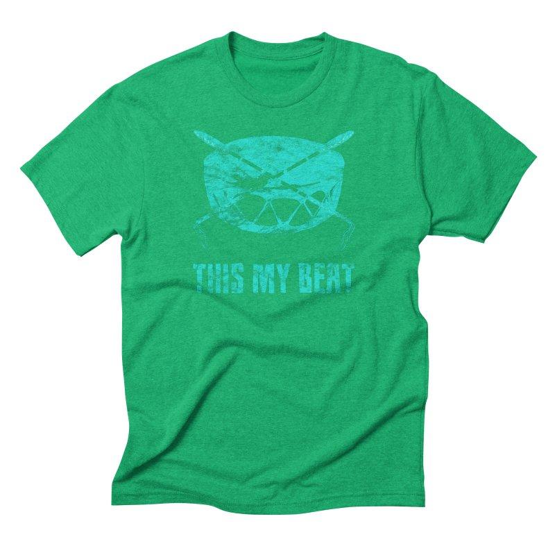 This My Beat #6 Men's Triblend T-Shirt by Shawnee Rising Studios