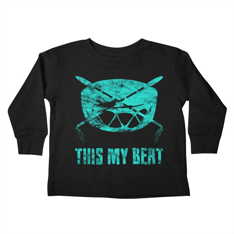 This My Beat #6 Kids Toddler Longsleeve T-Shirt by Shawnee Rising Studios