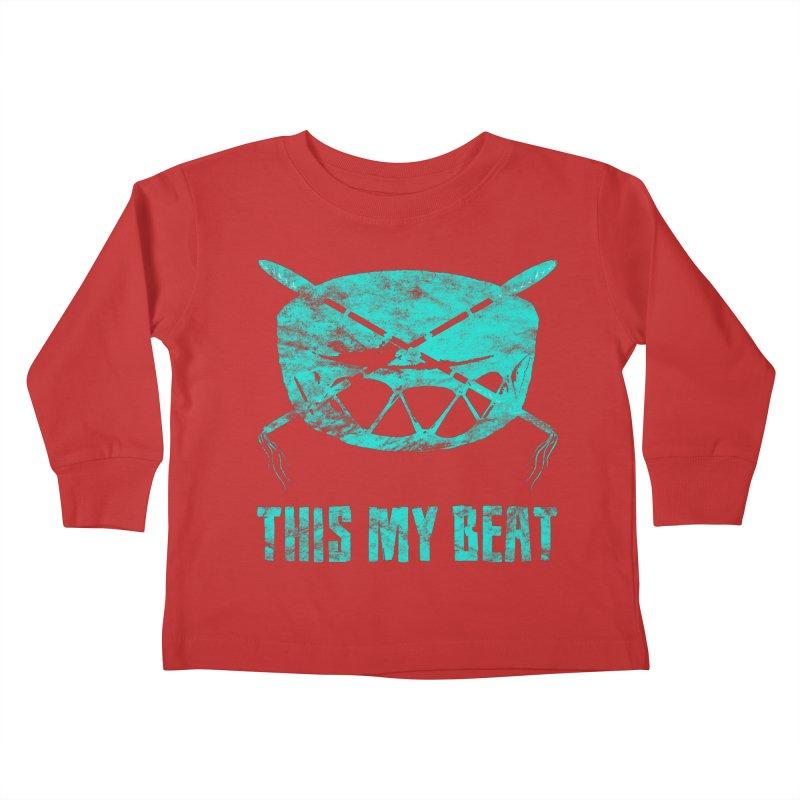 This My Beat #6 Kids Toddler Longsleeve T-Shirt by Shawnee Rising Studios