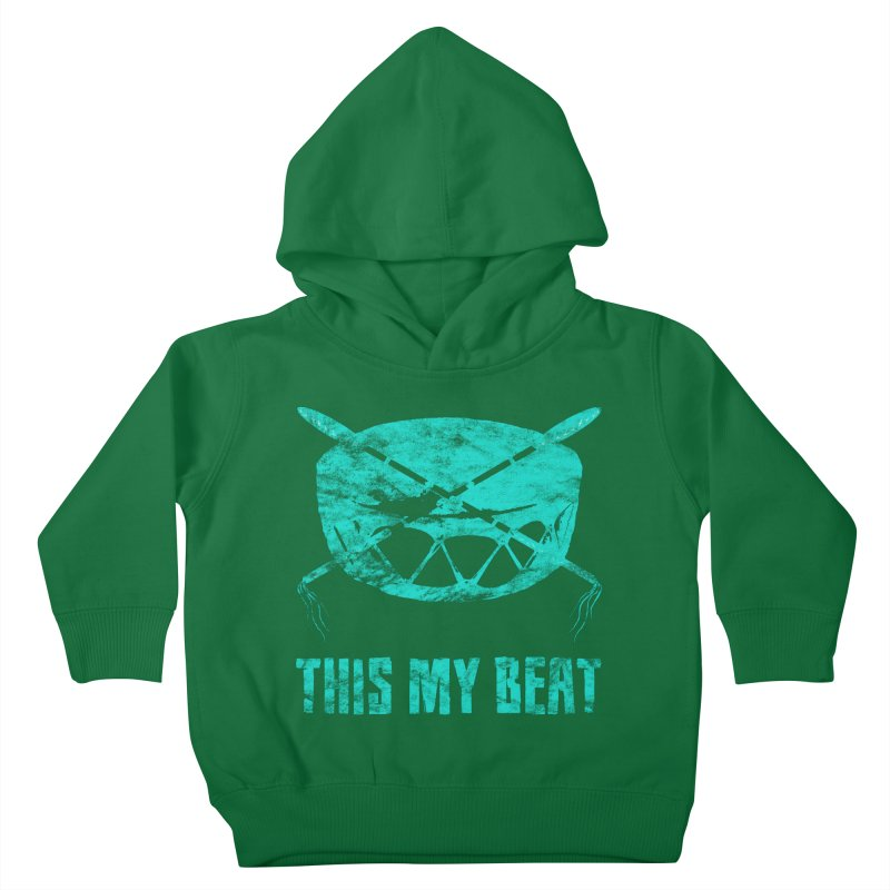 This My Beat #6 Kids Toddler Pullover Hoody by Shawnee Rising Studios