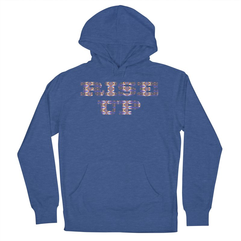 RISE UP Women's French Terry Pullover Hoody by Shawnee Rising Studios